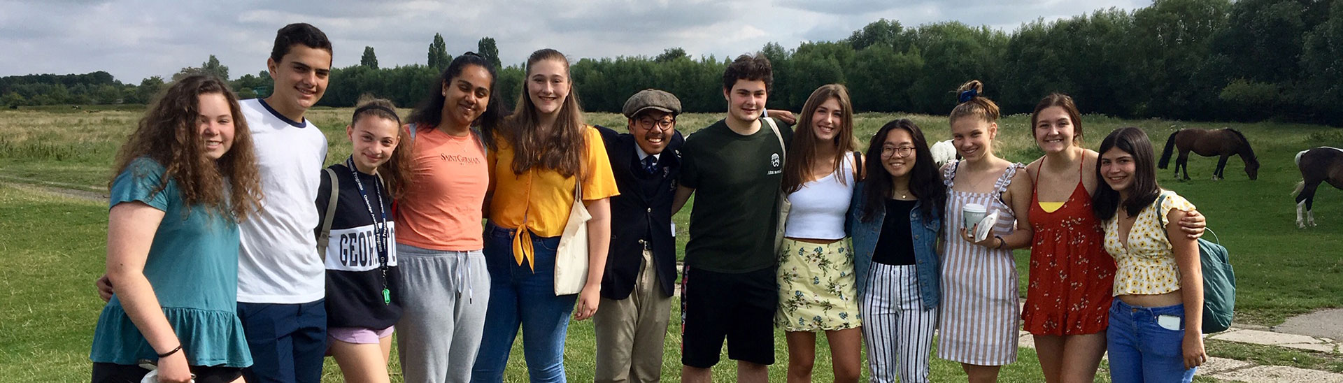 Oxbridge students celebrate academic success with an outing to the green pastures of Oxford