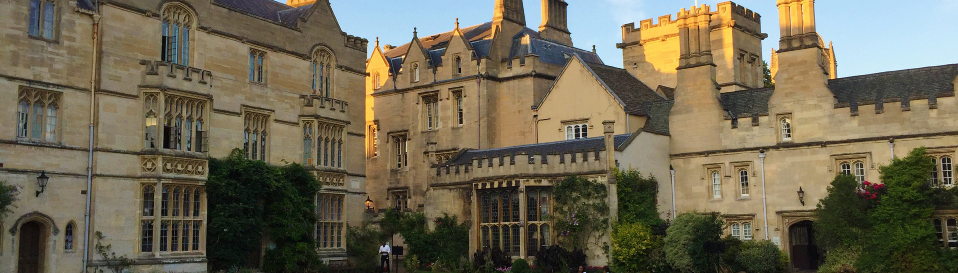 Pembroke College, home for our academic summer program students